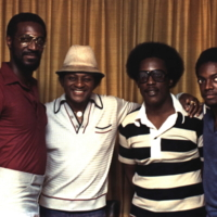 (l-r) Rosco Floyd, Soul Vocalist Joe Simon, Dave and Leo Taylor - 1978, WENN.jpg